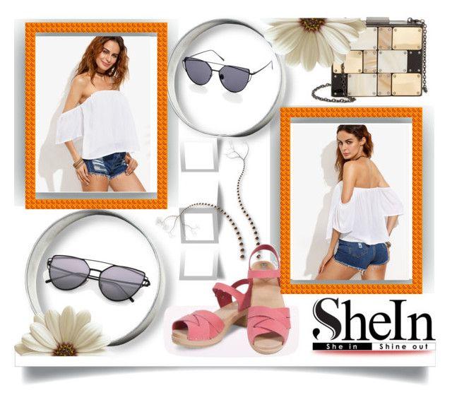 """Sheinside Sunglasses"" by jeneric2015 ❤ liked on Polyvore featuring Sondra Roberts"
