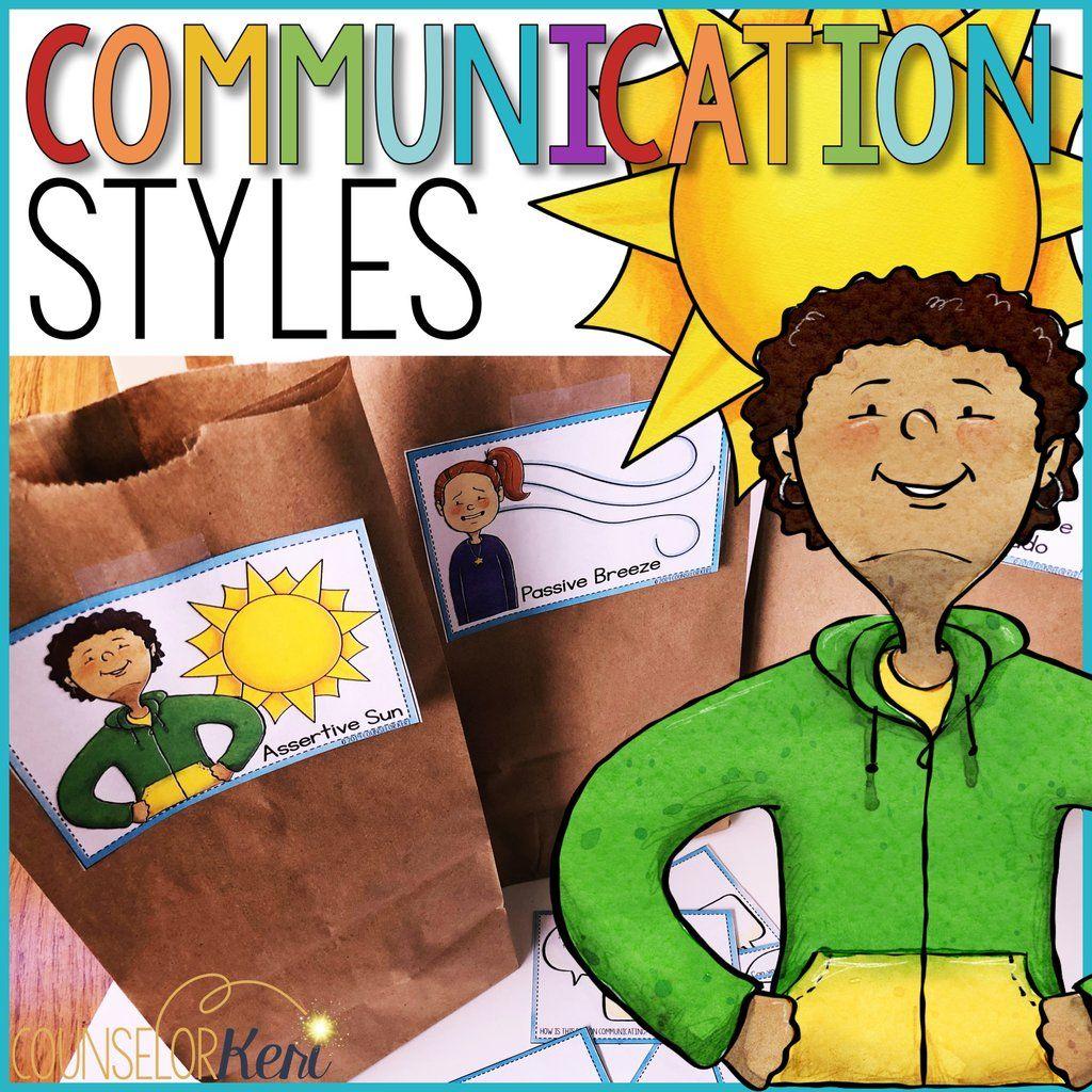 Communication Styles Classroom Guidance Lesson Assertive