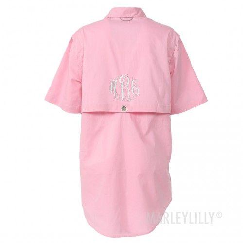 54ef5e5692034 Monogrammed Fishing Shirt | Marleylilly. Monogrammed Fishing Shirt | Marleylilly  Bathing Suit Cover Up ...