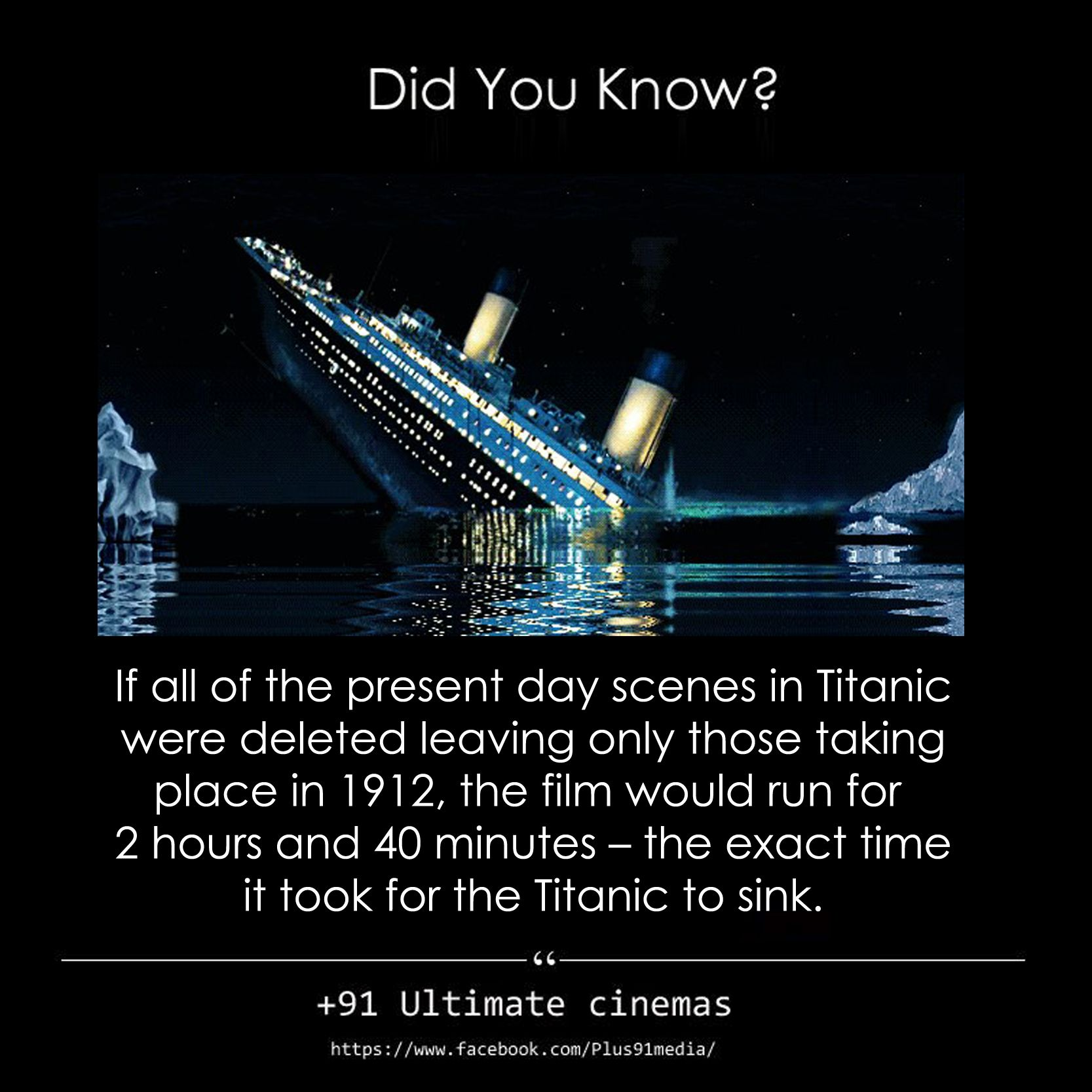 If All The Present Day Scenes In Titanic Were Deleted