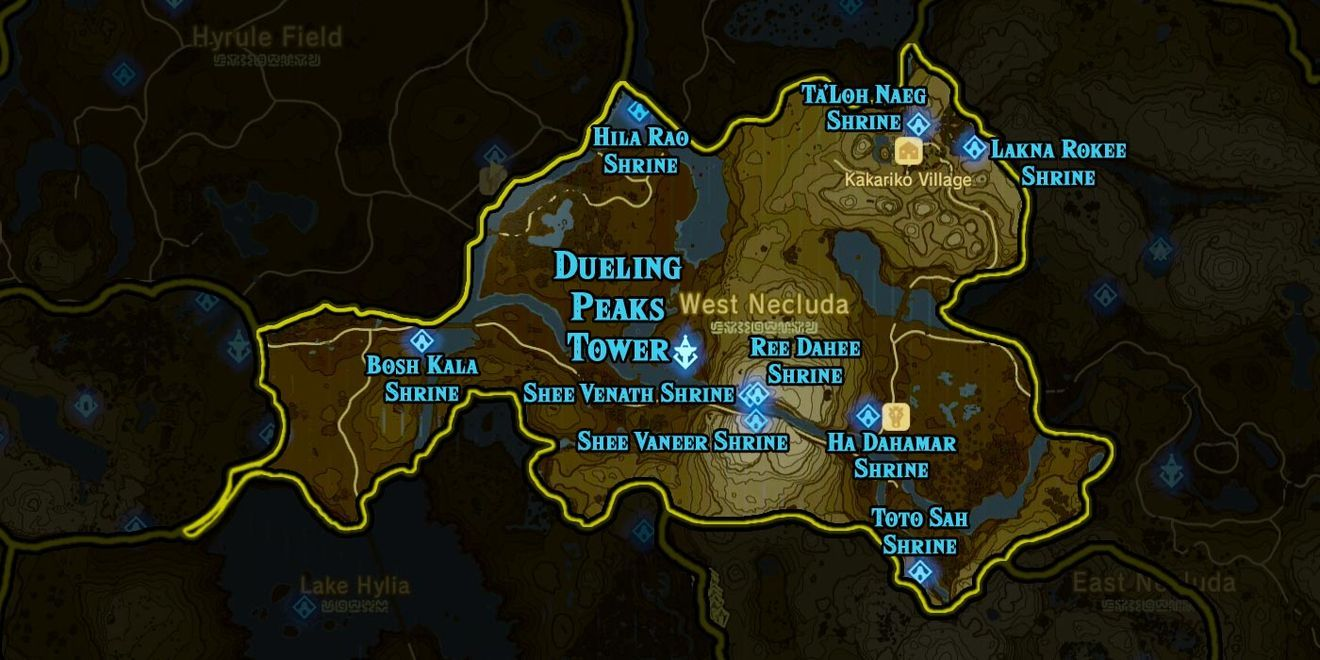 Zelda Breath of the Wild guide: Everything you need to know about shrines - Polygon | Zelda breath. Legend of zelda breath. Zelda map