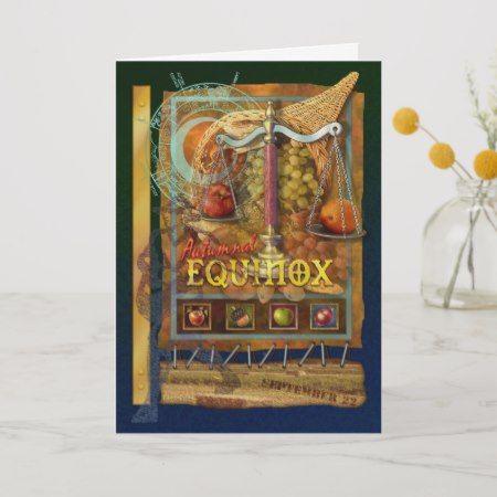 Autumnal Equinox Card   Zazzle.com #autumnalequinox