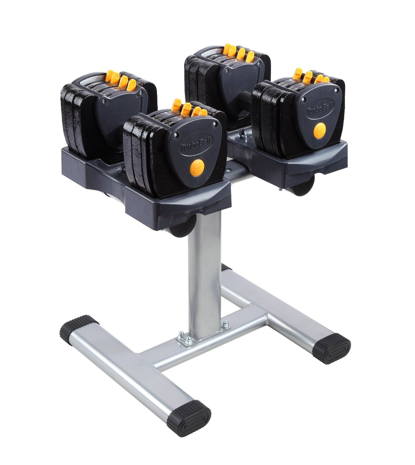 Adjustable Weight Dumbbell with Stand powerblock