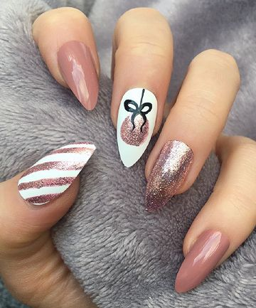10 Holiday-Inspired Nail Looks That Take Seconds t