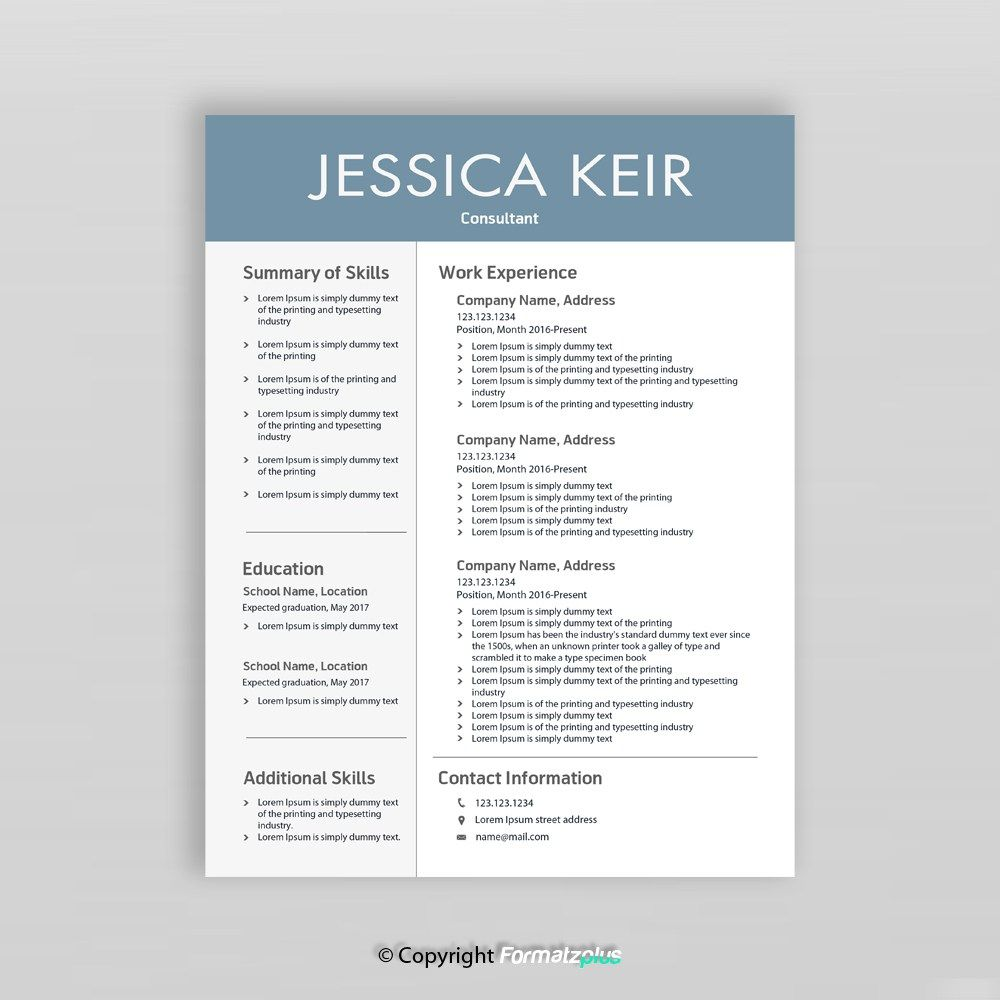 What To Include In Consultant Resume Design This Creative Consultant Resume Template Is Designed For Many Di Resume Skills Resume Skills Section Resume Design