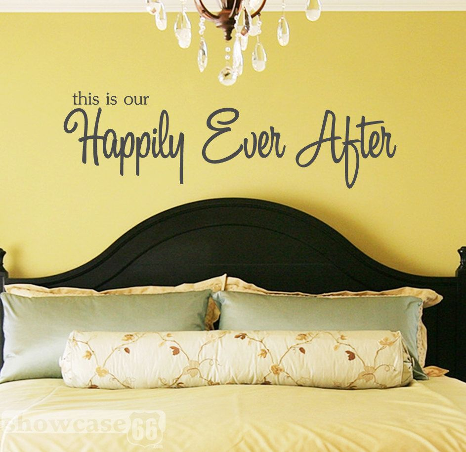 This is our Happily Ever After - Vinyl Wall Art - * I think I like ...