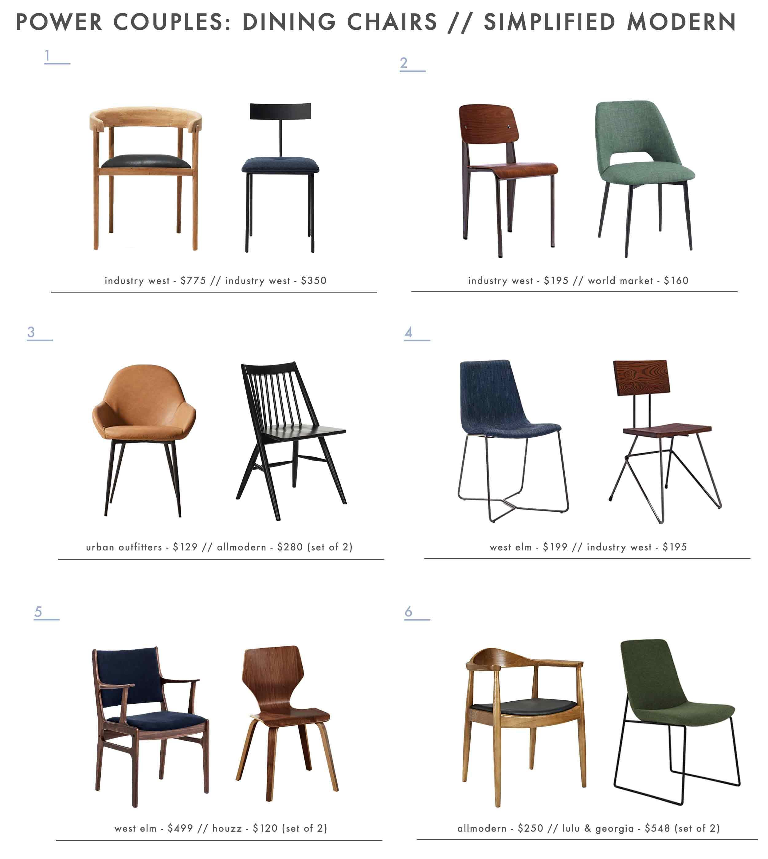How To Mix And Match Dining Chairs Like A Boss 28 Pairs We Love