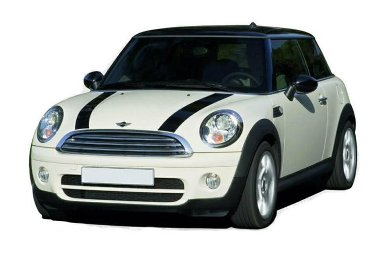 Mini Cooper Hood Stripe Kit Decal Sticker Graphics With
