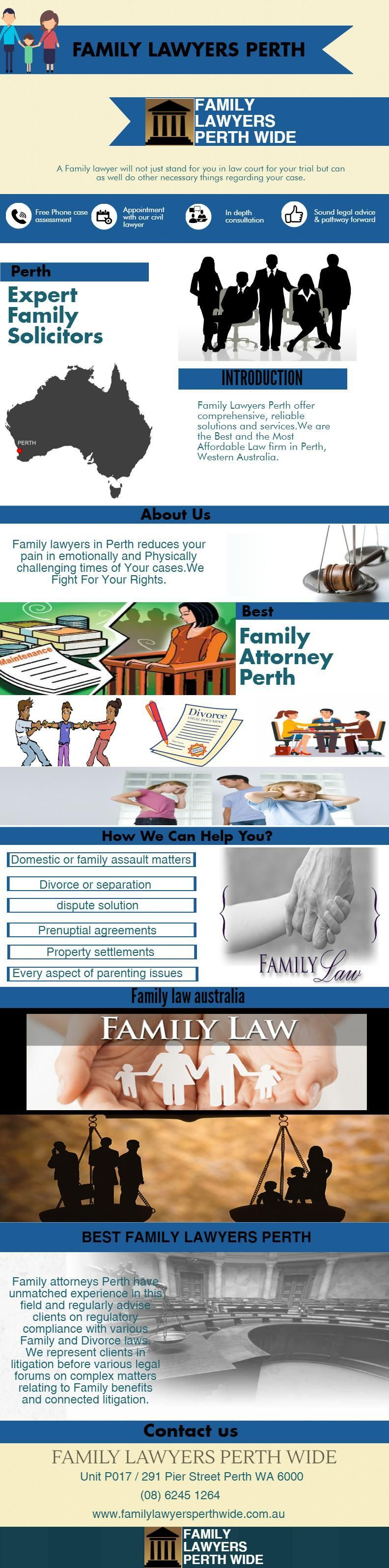 Family lawyers perth offers a complete assortment of