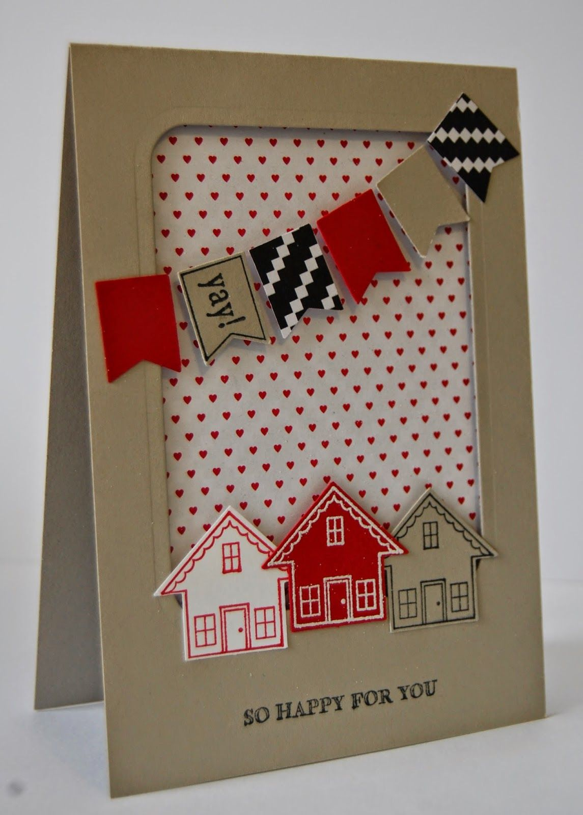 New Home Card Julie S Japes With Images New Home Cards