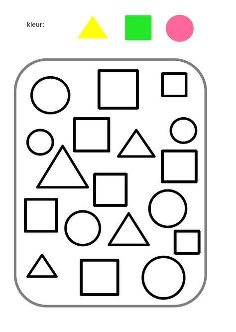 Atividade Infantil Formas Geometricas | Förskola | Pinterest ...