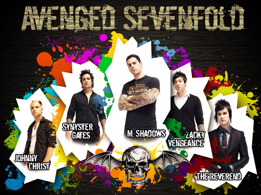 Avenged Sevenfold Members Avenged Sevenfold Avenged Sevenfold