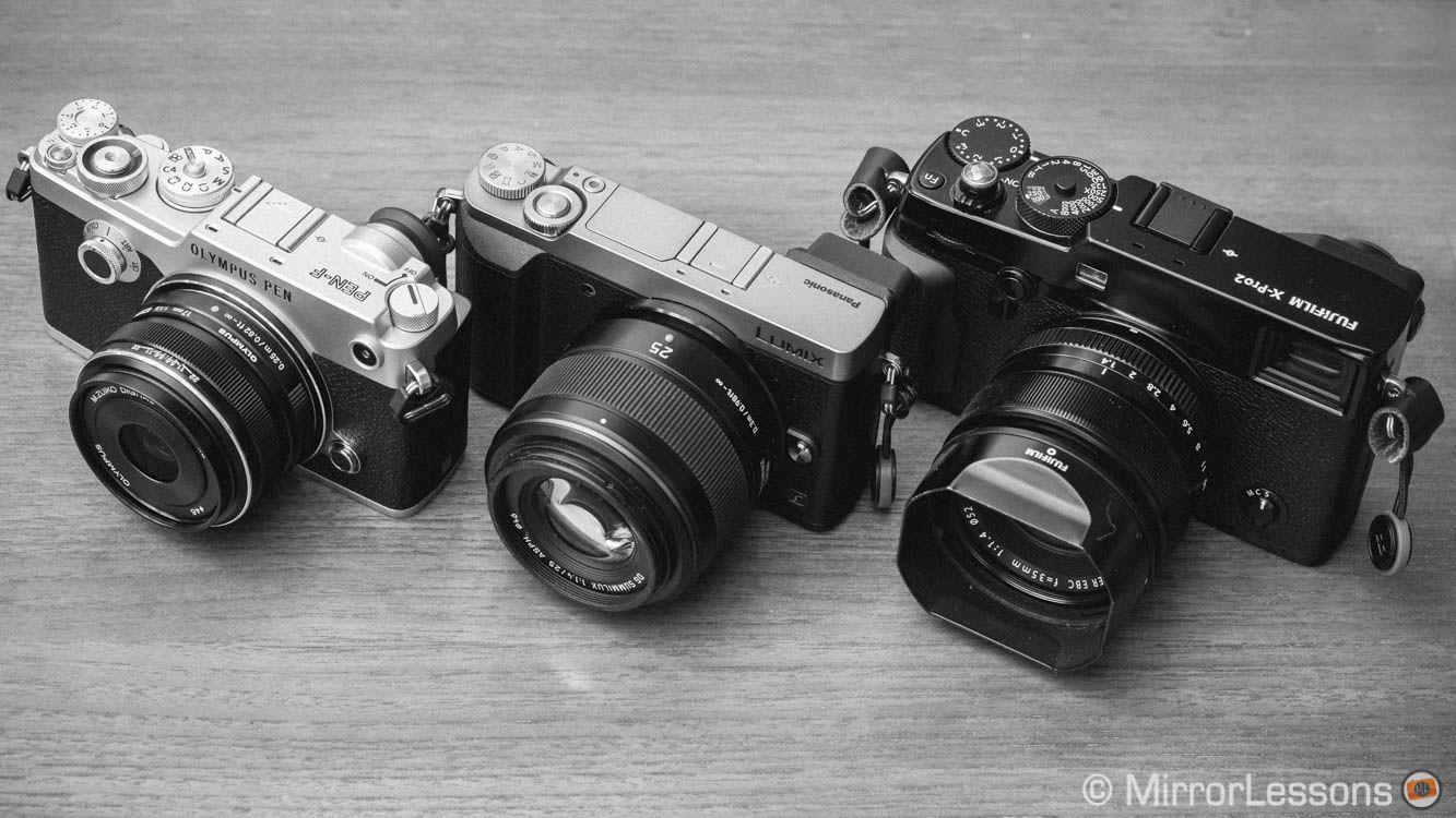 Fuji X-Pro2 vs  Olympus Pen F vs  Panasonic GX85 - The