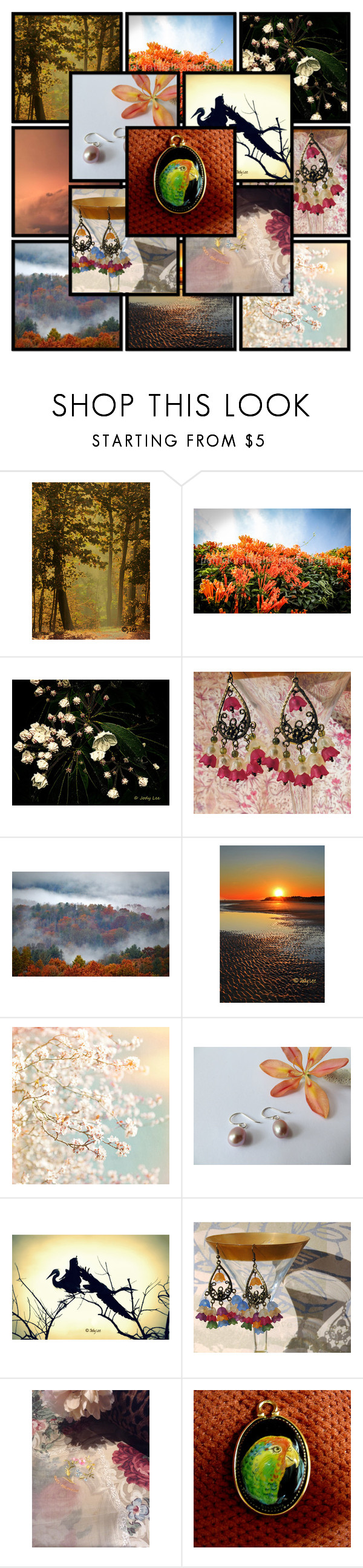 """The Green Parrot's Colorful Life"" by flower-of-paradise ❤ liked on Polyvore featuring integrityTT and estyspecialt"