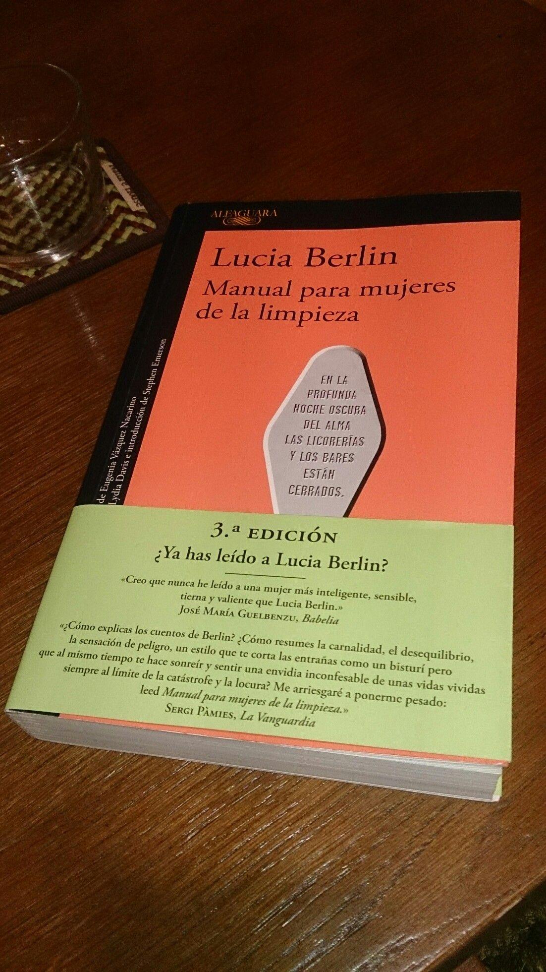 Manual para las mujeres de la limpieza. Lucía Berlín