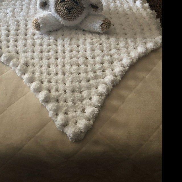 Sleepy Sheep Lovey Pattern | Security Blanket | Crochet Lovey | Lamb Lovey Toy | Blanket Toy | Lovey Blanket PDF Crochet Pattern #securityblankets