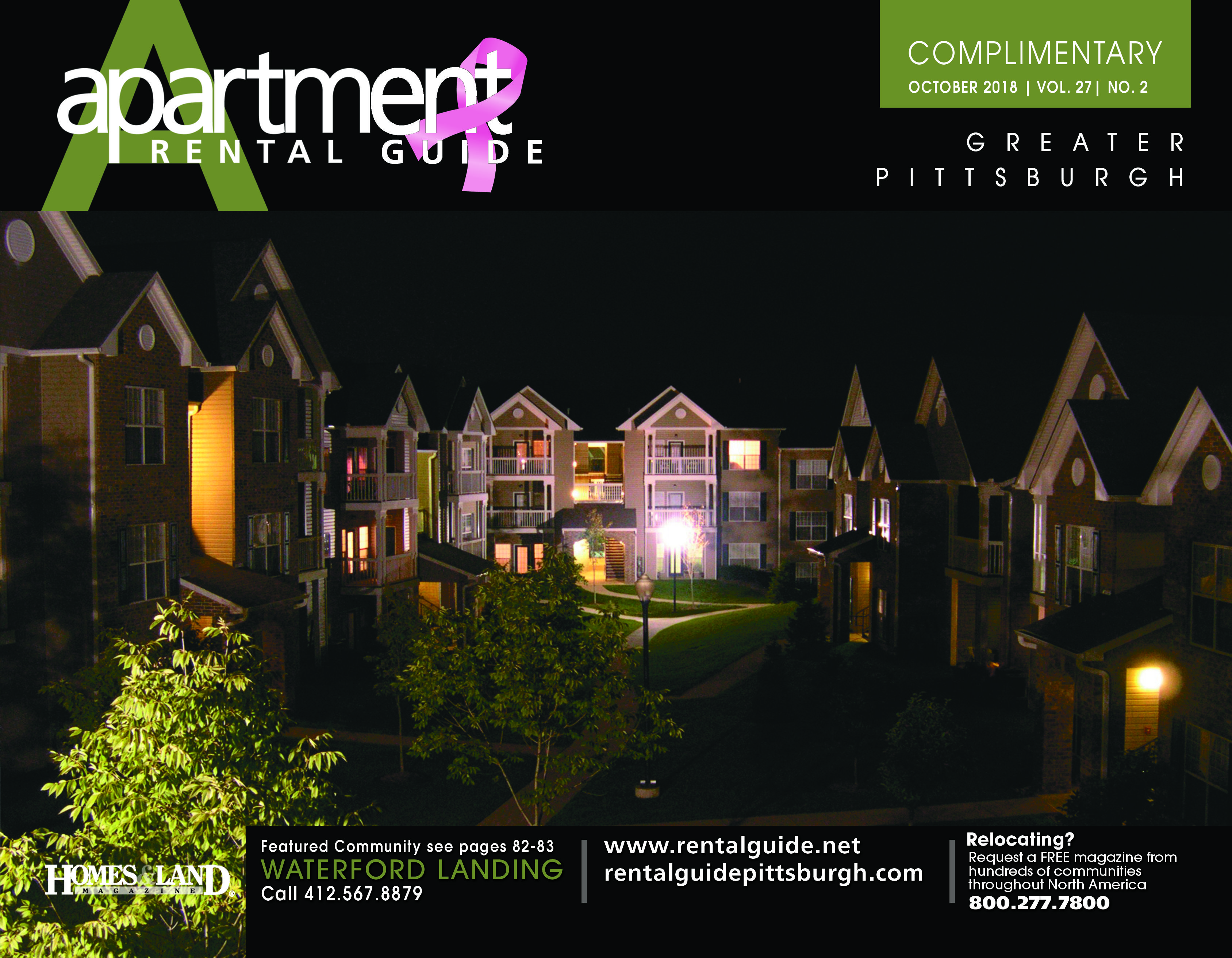 Octoberus featured front cover is waterford landing luxury