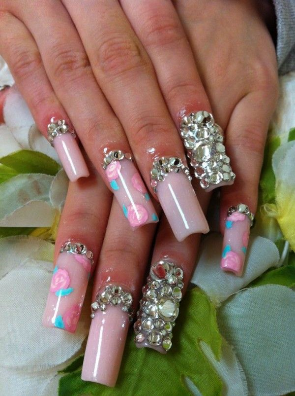 Long Acrylic Nails Designs - http://www.mycutenails.xyz/long - Long Acrylic Nails Designs - Http://www.mycutenails.xyz/long