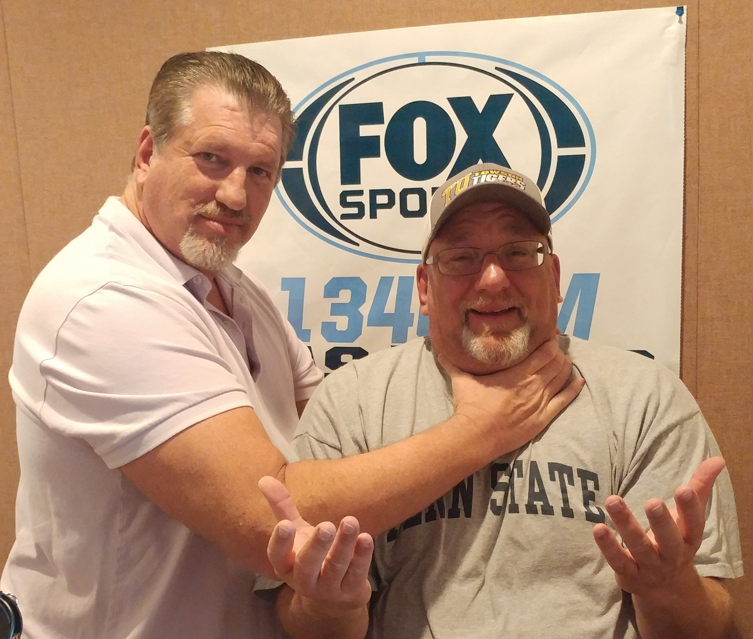 """My first meeting with """"The Giant Warrior"""" Jeff Bearden"""