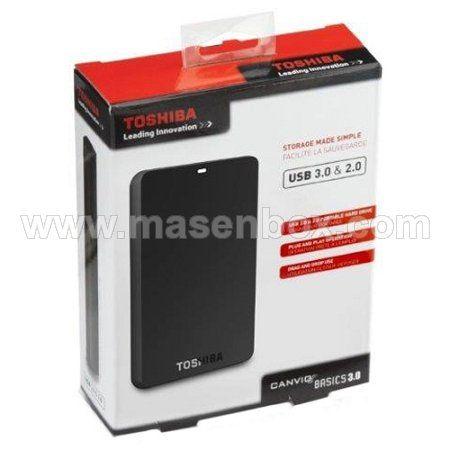 Toshiba Canvio Basic 1TB • MasenBox | Aksesoris Komputer/Notebook/Handphone