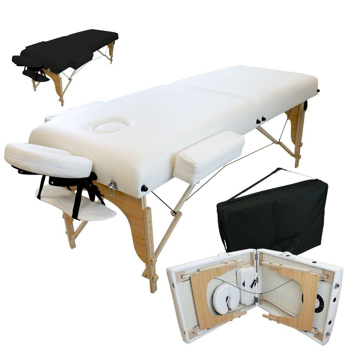 Bois Panneau 2 Cm Massage Table De En Zones 13 Avec Pliante PkuiXOZT