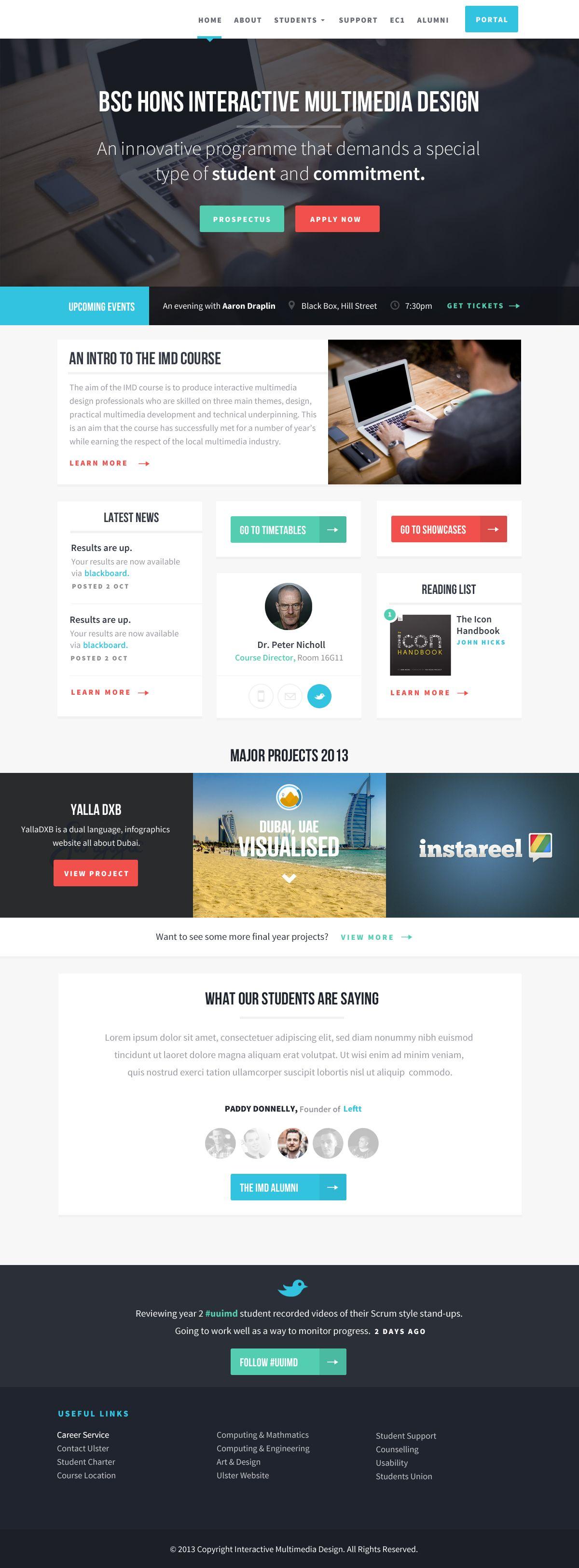 Dribbble Imd Jpg By Chris Braniff Web Development Design Web Template Design Interactive Design