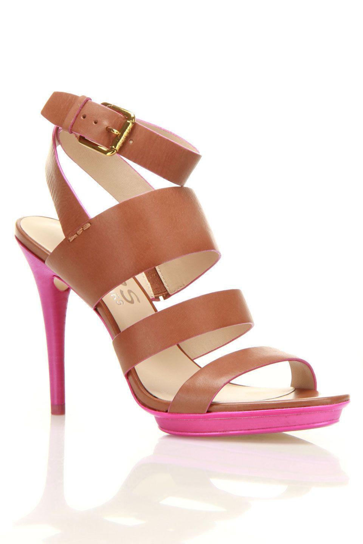 Lucerne Sandal In Nutmeg