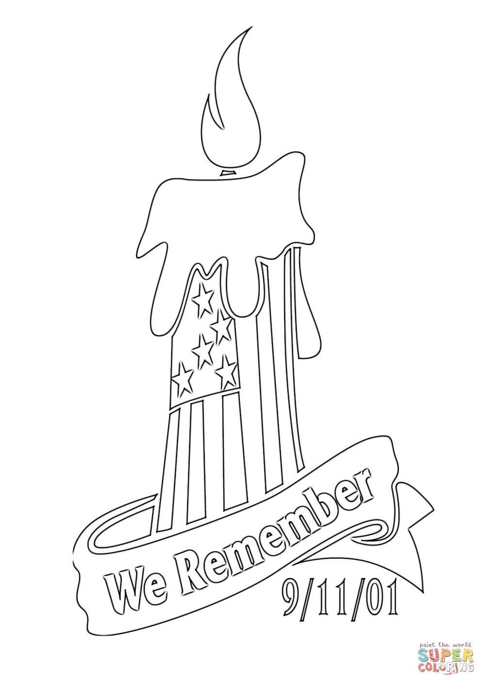 We Remember coloring page Free Printable Coloring Pages