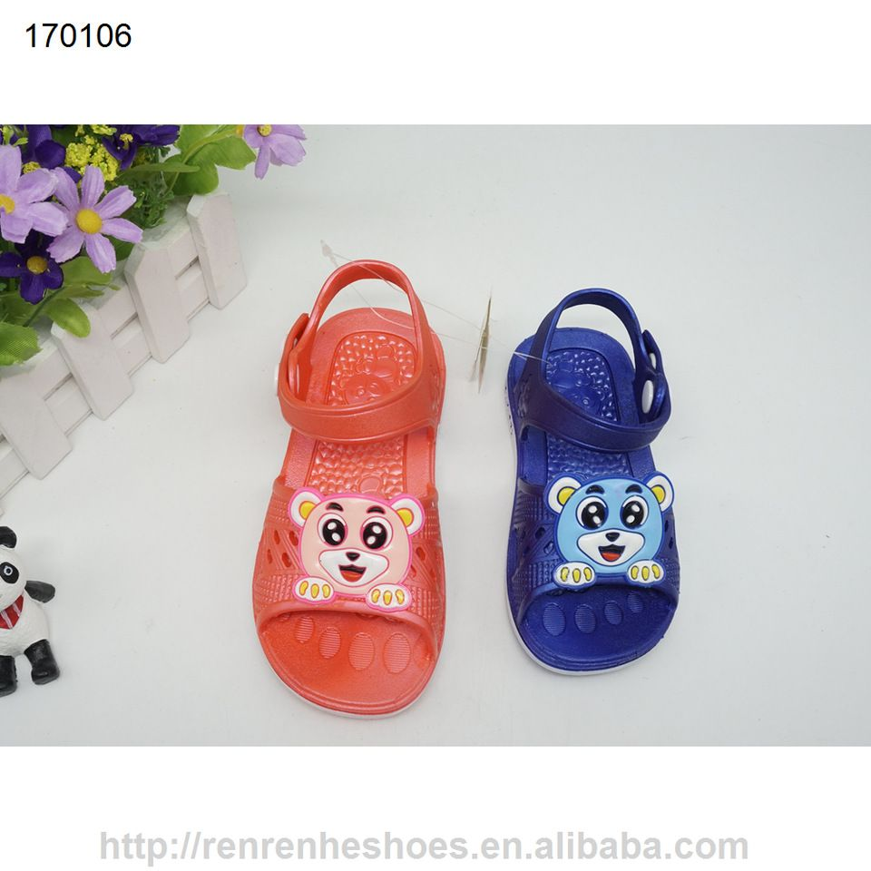 539b83f0a993 New design pvc kids sandal children Summer cartoon cute plastic shoes made  in China