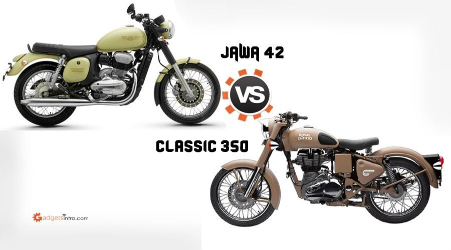 Jawa 42 Vs Royal Enfield Classic 350 Price And Features Enfield