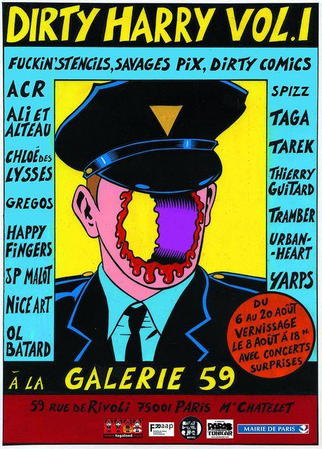 Exposition Dirty Harry Vol. 1 au 59 Rivoli, via Flickr.