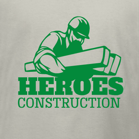Heroes Construction T Shirt Template