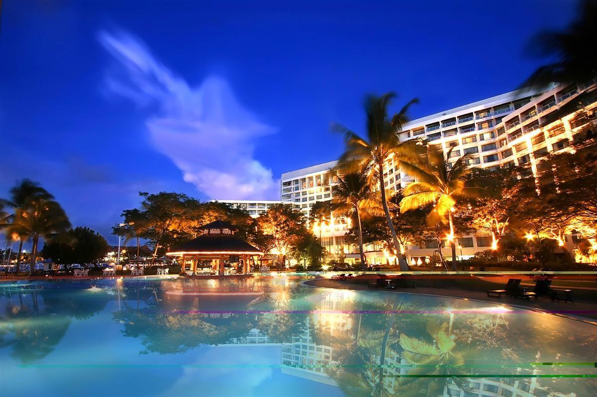 A postcard moment of The Pacific Sutera Hotel.