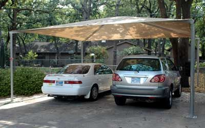Shade Canopy Multiple Uses 20 Year Warranty Pvc Canopy