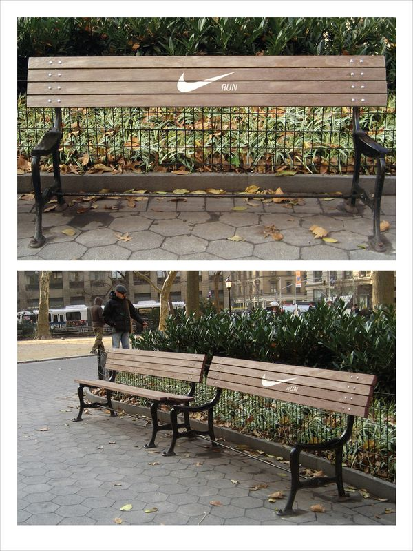 Just another reason to love Nike! They have some pretty spectacularly creative marketing folks! :)