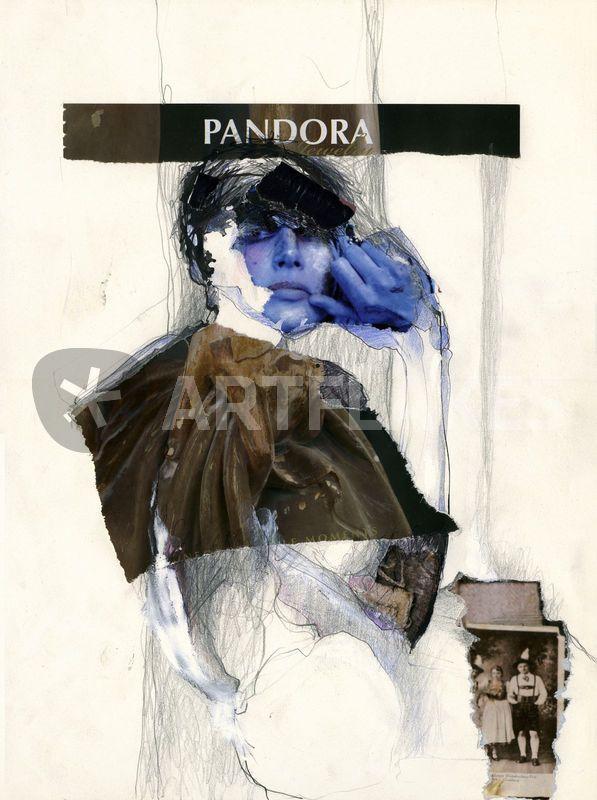 """""""Pandora"""" Zeichnung als Poster und Kunstdruck von Rike Beck bestellen. - ARTFLAKES.COM"""