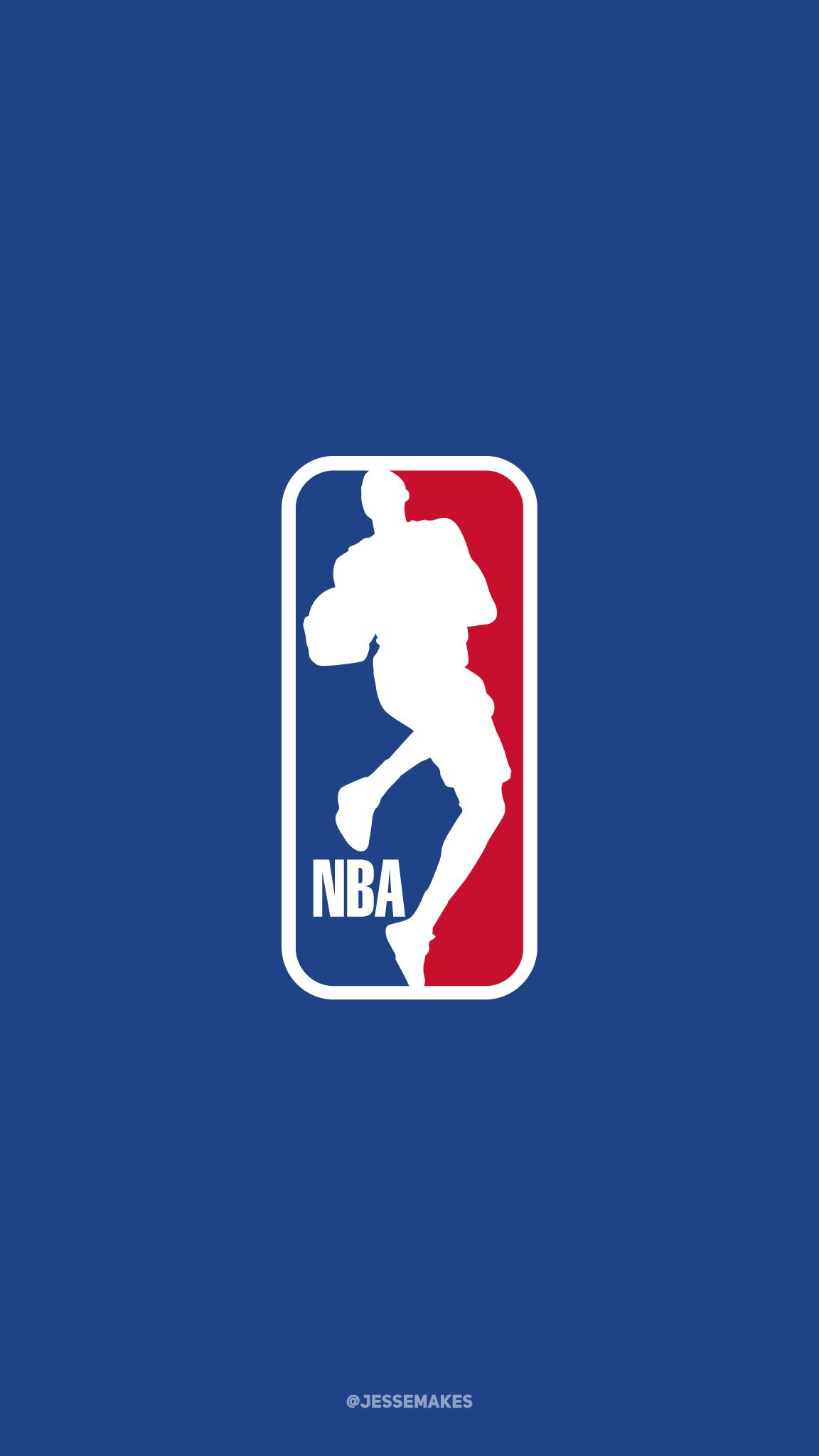 Paul George as the subject of the NBA logo  Part of my NBA