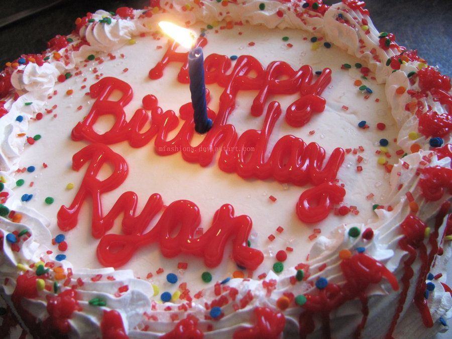 Happy Birthday My Friend Ryan Happy Birthday Ryan By Mfashions