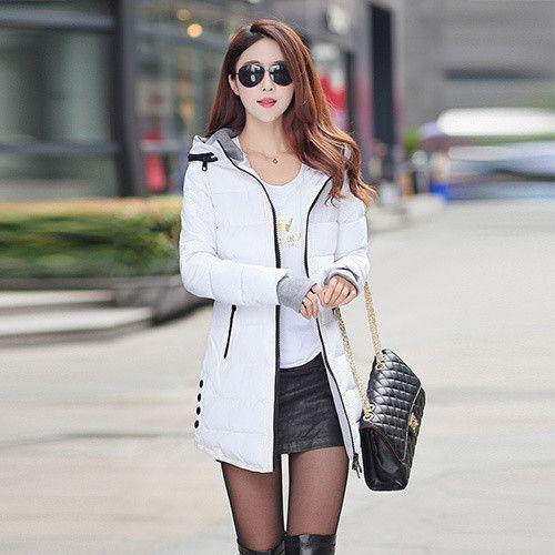 2016 winter jacket women wadded jacket female outerwear slim young ...
