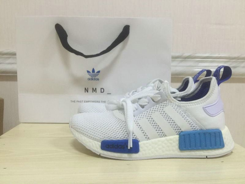 new style c1646 8cd43 How To Buy 2019 WMNS NMD Runner PK S75235 White Blue Lagoon Roal