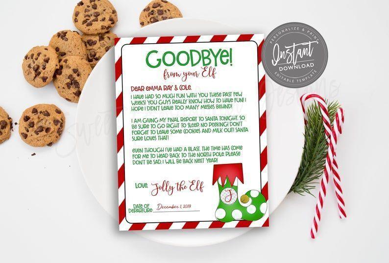 Editable Elf On The Shelf Arrival Letter Free , Editable Elf On The Shelf Arrival Letter