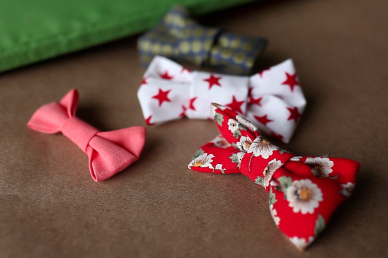 No-sew Bow Tutorial (from the Crafted Blog)
