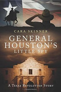 Montana Bookworm: REVIEW: General Houston's Little Spy by Cara Skinn...