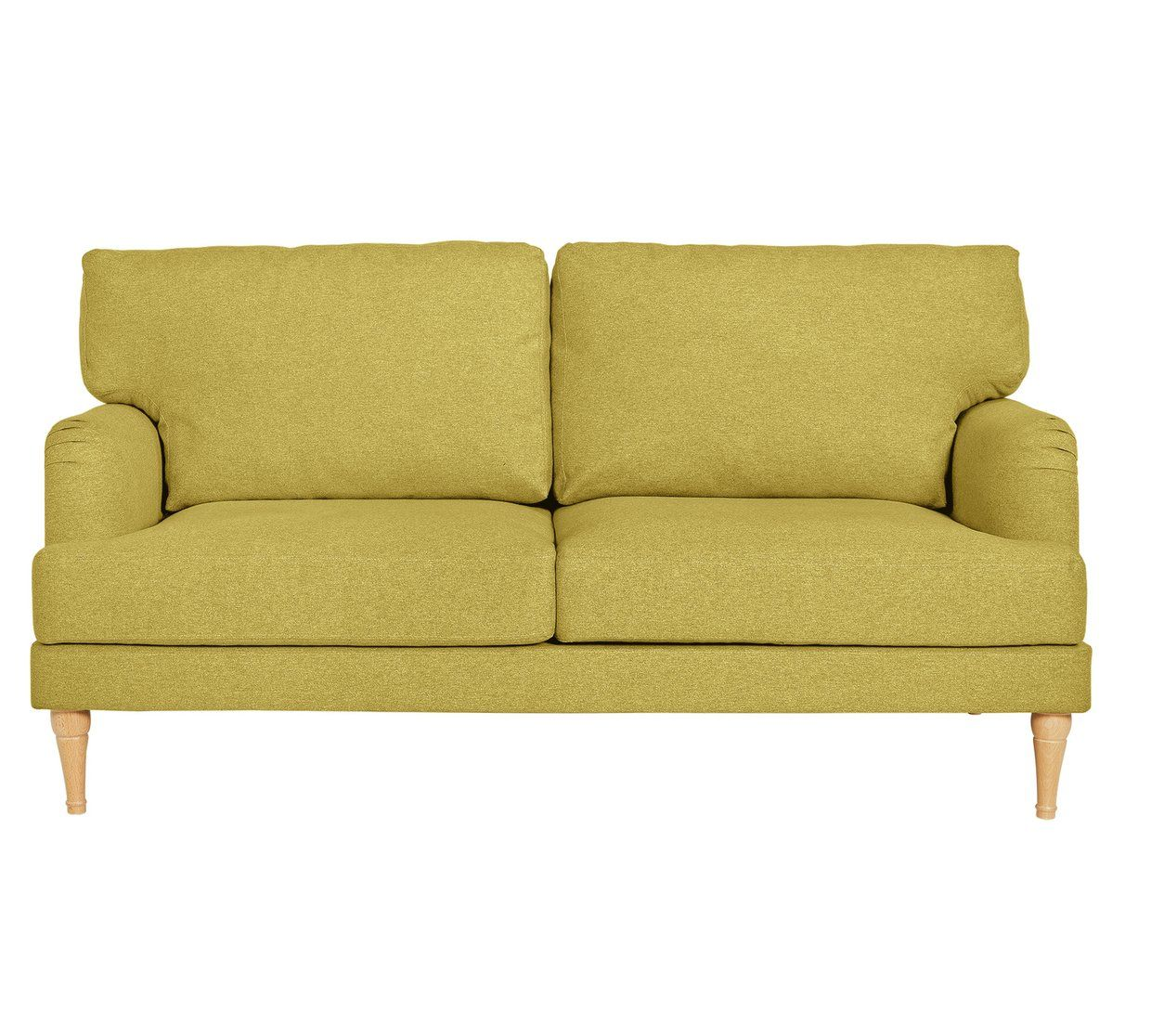 Sofa Settee Argos Argos Home Dune 3 Seater Fabric Sofa Yellow Wishlist In