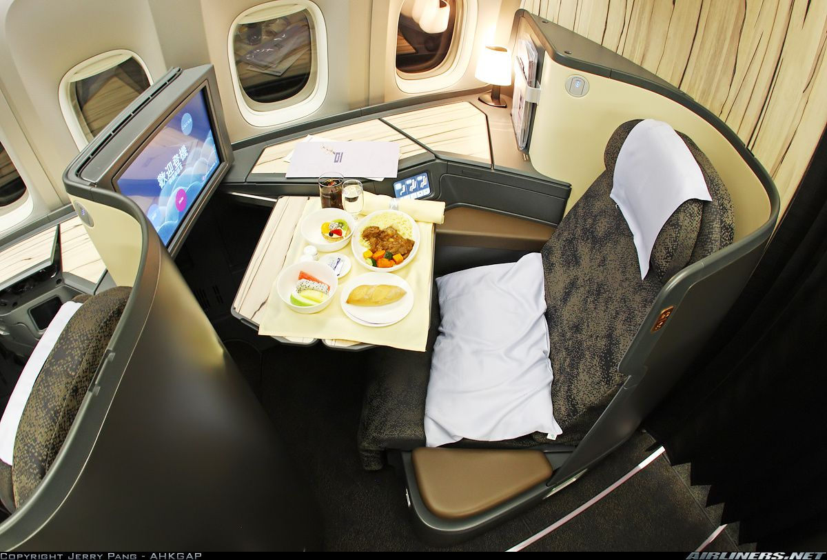 China Airlines Boeing 77736N/ER First Travel and save 50