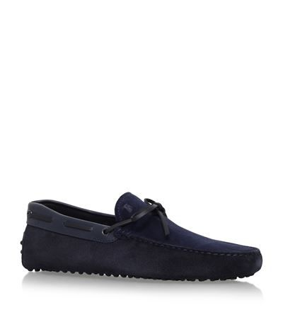 TOD'S 122 Contrast Tie Drivers. #tods #shoes #