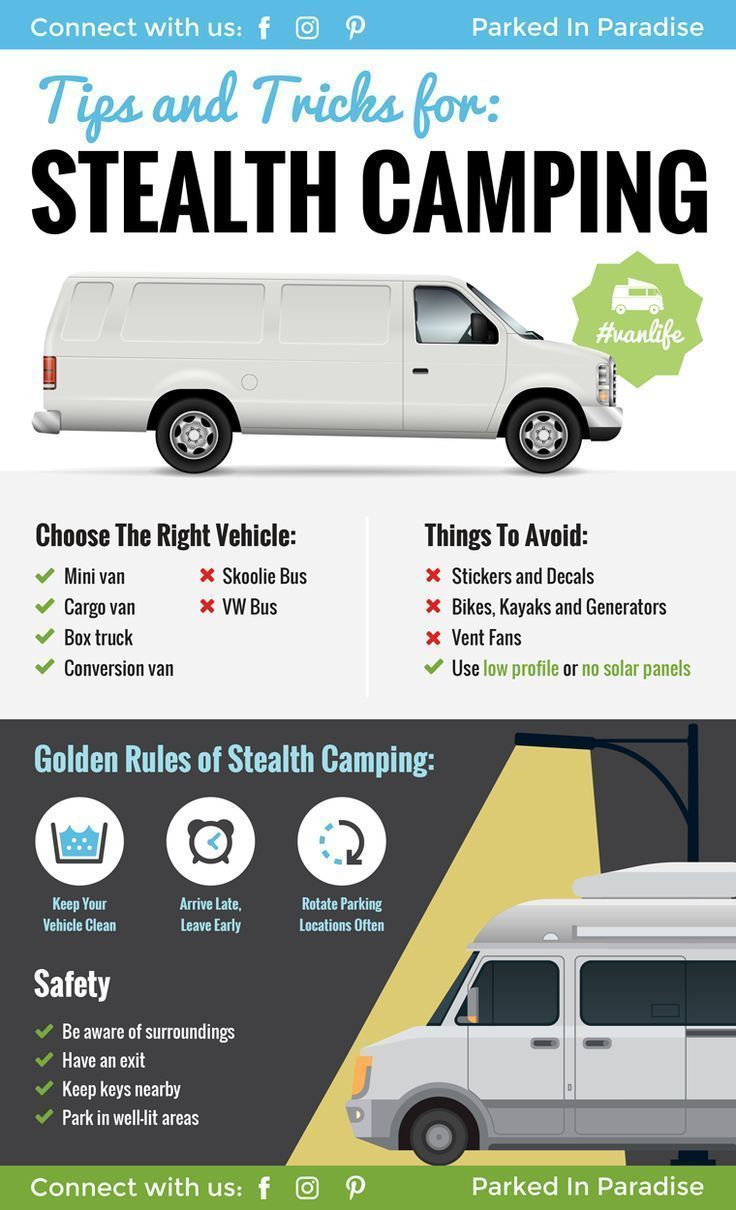 Photo of Stealth Camping Tips For Van Life In The City