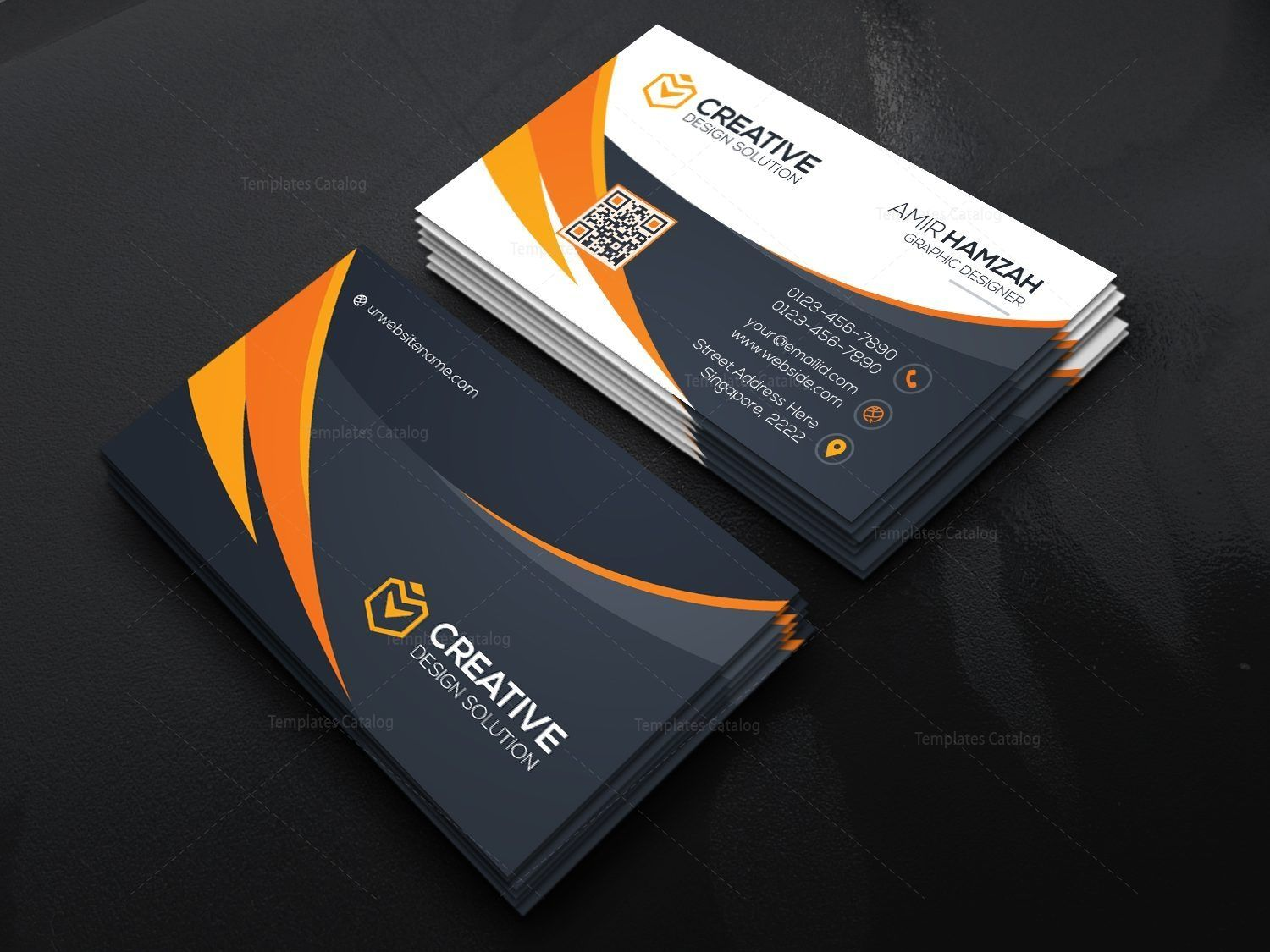 Stylish Psd Business Card Templates Graphic Templates Business Card Psd Stylish Business Cards Corporate Business Card