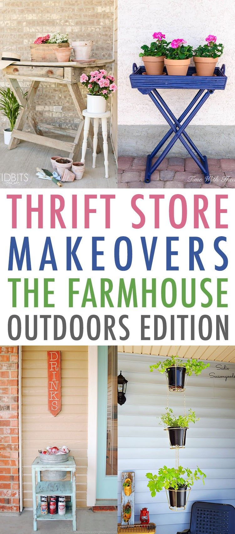 Thrift Store Makeovers The Farmhouse Outdoors Edition - The Cottage Market