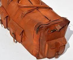Afbeeldingsresultaat voor big travel bags leather